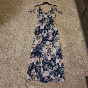 Floral Maxi dress Multi colored